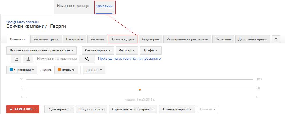 Качествен рейтинг - реклама в Google